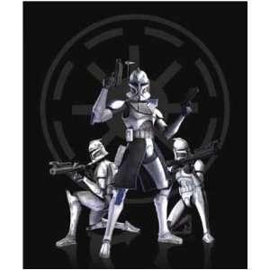 Star Wars Fun Fur Throw [The Clones   48 x 60 Inches] Toys & Games