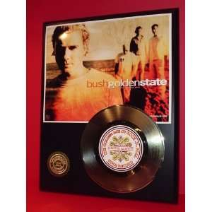 Gold Record Outlet Bush 24KT Gold Record Display LTD