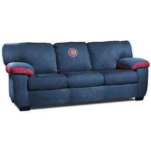 Chicago Cubs MLB Team Logo Classic Sofa