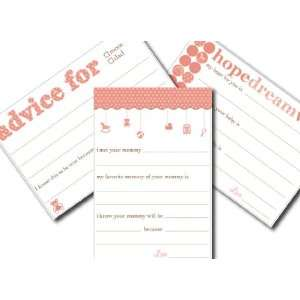 Baby Advice Cards {girl}