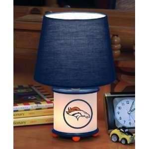 Denver Broncos Memory Company Team Dual Lit Accent Lamp NFL Football