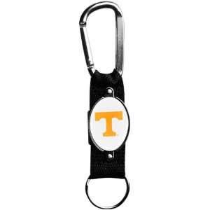Tennessee Volunteers Black Carabiner Clip Keychain Sports