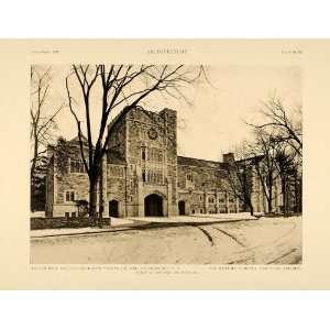 1915 Print Taylor Hall Vassar College Poughkeepsie New