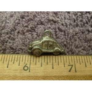 (VW) Beetle (Bug) Charm Sterling 3D Vintage Everything Else