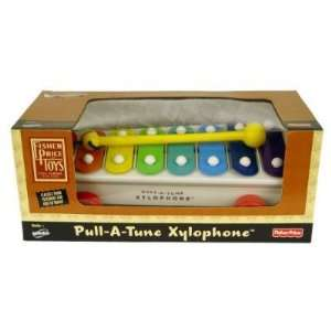 Pull A Tune Xylophone Toy Fisher Price Classics NEW Toys & Games