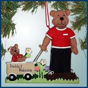 Personalized Christmas Ornaments   Father and Daughter