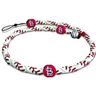 MLB St. Louis Cardinals Angry Bird Black Team Color Baseball Keychain