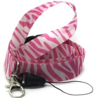 Pink Zebra Lanyard: Automotive