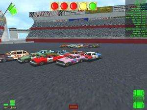 Derby & Figure 8 Race PC CD car smashem up arena compeiion game