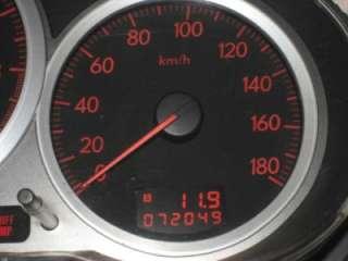 JDM 2004 SUBARU IMPREZA WRX STI GAUGE CLUSTER 180 KM/H GDB GDA GGA