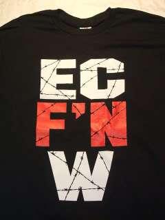 ECW ~ EC FN W ~ Wrestling T shirt Adult Sizes