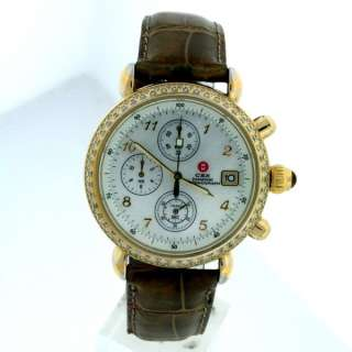 Michele CSX Chrono. Diamond, Mother of Pearl Dial Watch