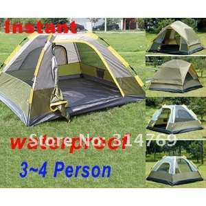 person army green camping instant tent hike