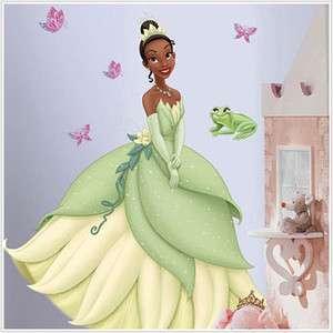Tiana Disney Princess Giant 3ft Wall Decal Butterflies Princess and