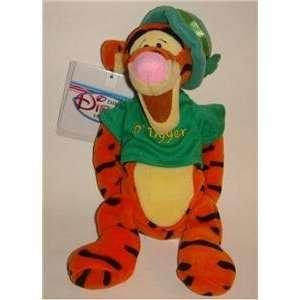 Disney Winnie Pooh Tigger St. Patricks Day Bean Bag Doll Toy Toys