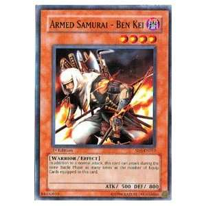 Armed Samurai   Ben Kei   Warriors Triumph Structure Deck