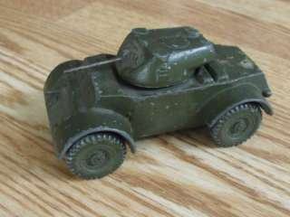VINTAGE METAL DALE MODEL COMPANY ARMORED CAR TANK WOW!!