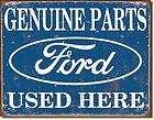 TIN SIGN HOT RAT ROD GARAGE FORD FAIRLANE 54 55 56 2 DOOR CLASSIC CAR