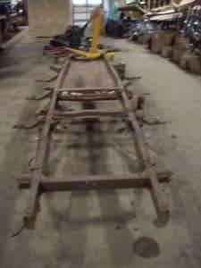 54 55 CHEVY PICKUP TRUCK FRAME
