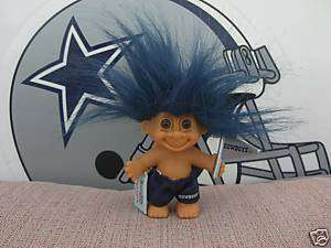DALLAS COWBOYS OFFICIAL GOOD LUCK TROLL BY RUSS NEW