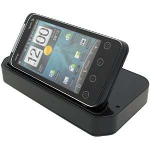 NEW BATTERY CHARGER CRADLE AC USB WALL DOCK FOR SPRINT HTC EVO SHIFT