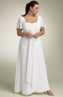 Elegant Wedding Dresses/Bridesmaid Gown Plus Size Custom U107