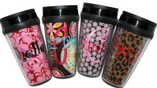 Personalized Monogrammed Coffee Cup ~Tumbler Travel Mug