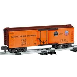 Lionel S Scale American Flyer Reefer Pacific Fruit Express