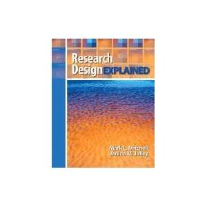Research Design Explained 6TH EDITION Books