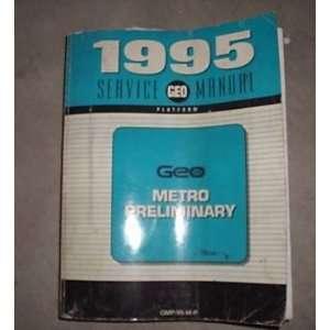 1995 Chevrole Chevy Geo Mero Service Shop Manual Oem