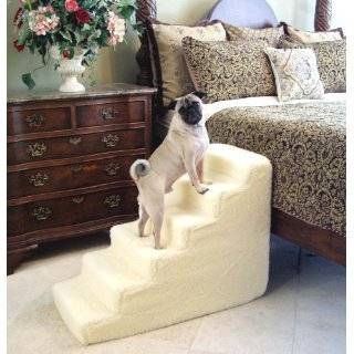 Pet Stairs Petstairz 6 Step High Density Foam Pet Step and Pet Stair