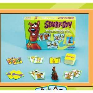 Scooby Doo Make a Match Game [Board Game] Toys & Games