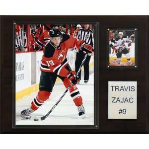 NHL Travis Zajac New Jersey Devils Player Plaque: Sports