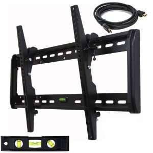 Tilt TV Wall Mount Bracket for Most 32  65 LED LCD Plasma TV