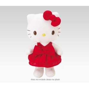 Hello Kitty Dress Me ~ Little Red Dress, Bow & Shoes