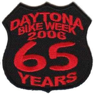 DAYTONA Rally 2006 65 Years BIKE WEEK Biker Vest Patch