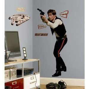 Star Wars Han Solo Giant Wall Decals In RoomMates
