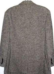 RALPH LAUREN Womens Cashmere & Wool Tweed Jacket Blazer Medium 12 Coat