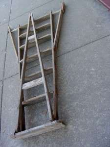 Legs Fruit Picking ORCHARD Wooden Wood STEP LADDER 7 TALL