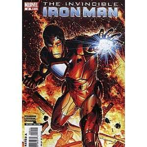 Invincible Iron Man (2008 series) #2 VARIANT: Marvel