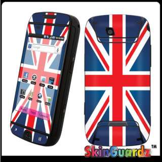 Union Jack Flag Vinyl Case Decal Skin To Cover Samsung SideKick 4G