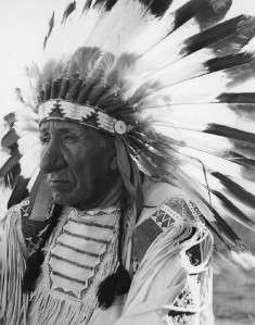 GREAT NATIVE AMERICAN INDIAN CHIEF RED CLOUD PHOTO WESTERN PLAINS