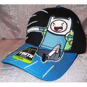 Adventure Time, FINN Adjustable Baseball Cap HAT Youth