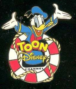 TDC   Toon Disney Channel Donald Duck Disney pin