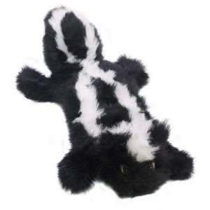 Plush Puppies Squeaker Real Animal Lb Skunk Dog Toy: Pet Supplies