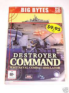 Destroyer Command *BRAND NEW* PC Naval Combat Simulator
