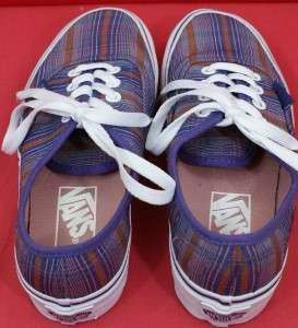 NEW Womens Size 5.0 ( PPP12 3 ) Authentic Checkerboard ERA VANS Shoes