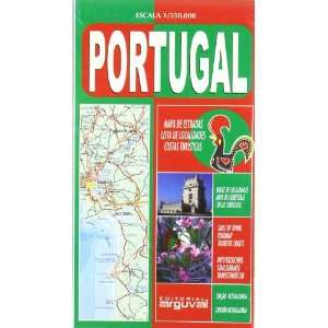 Mapa de Portugal (9788495948304) Unknown Books