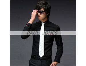 Men's Dress Shirts Slim Fit Casual Shirts 3 Size CL1056