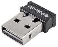 Polaroid PMI5500 2.4 GHZ Wireless Laser Mouse, 1600 DPI   Black